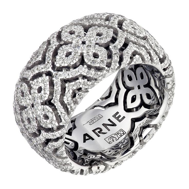 Logomaniya Ring - white gold & diamonds