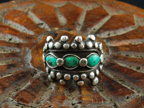 Silver tribal ring - Kashgar.... best jewellery shop