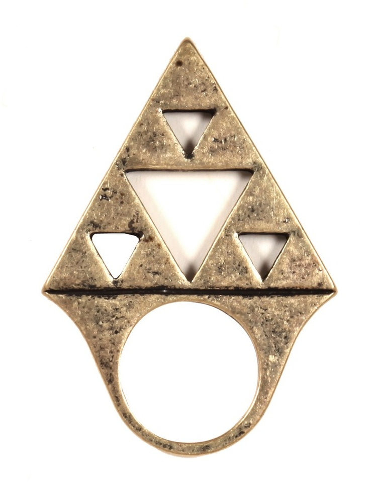 Triangle Stack Ring