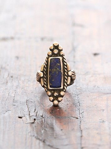 Vintage Blue Stone Ring