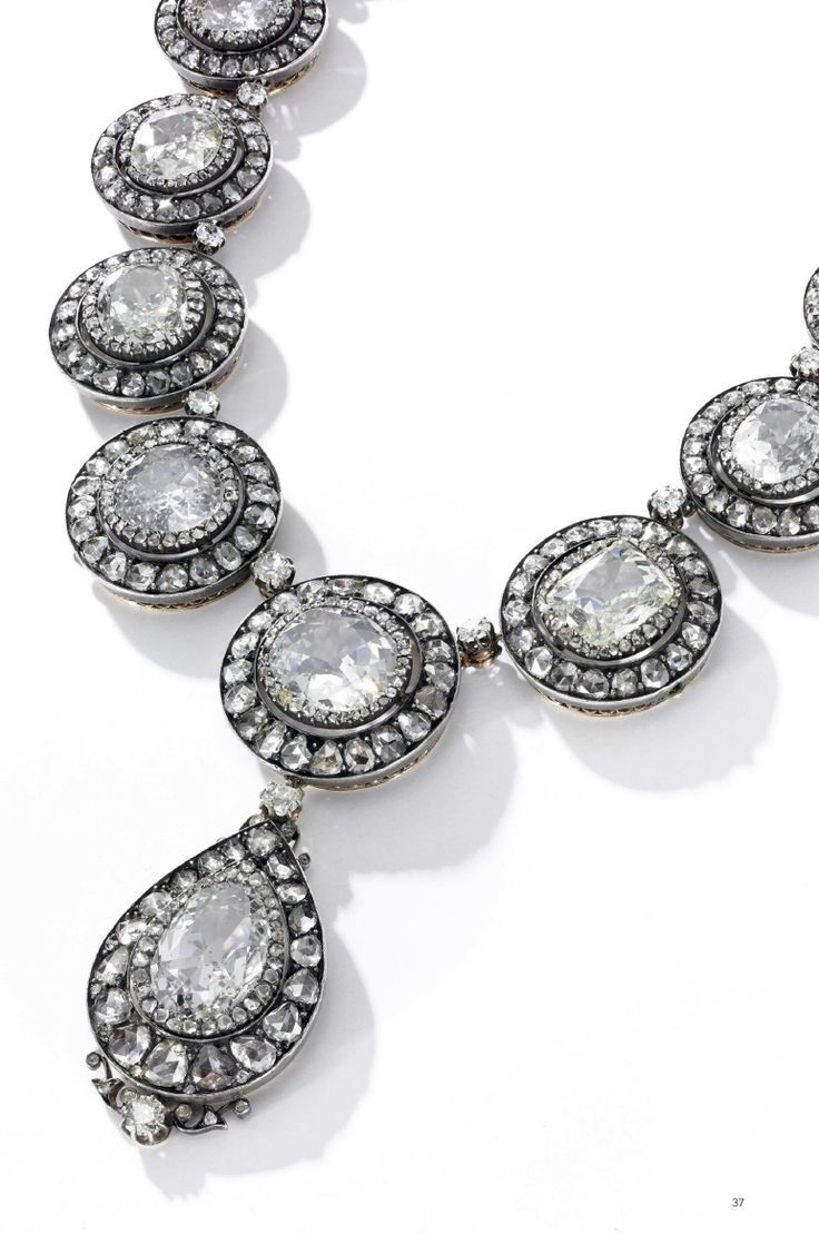 Oscar Massin: An important diamond necklace, last quarter of the 19th century. D...