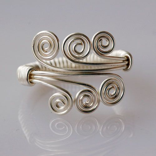 Cute curly ring!
