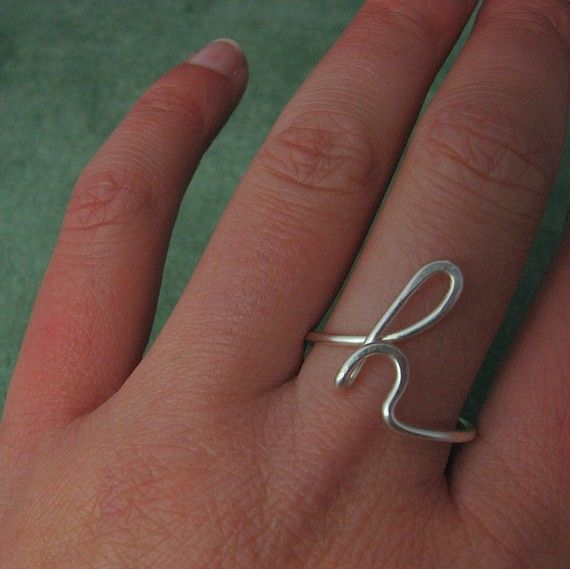 initial rings. I want one!