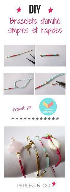 Comment réaliser des bracelets simples et faciles à faire? Vous cherchez une i...