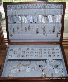 How to Make Silverware Jewelry | Silverware Box Display for Sterling Spoon Jewel...