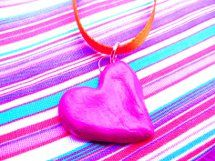 These playful Salt Dough Heart Pendants are so fun to make! Once you learn how t...
