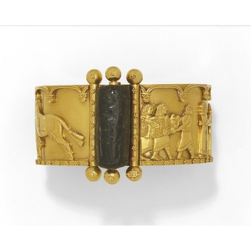 Bracelet | Firm of John Brogden | V Search the Collections ca.1860