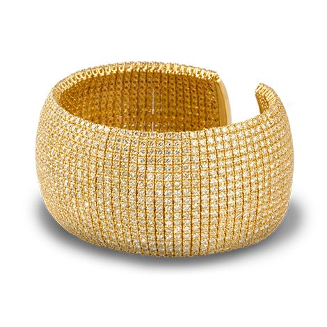 » de Boulle Collection Fancy Yellow Diamond Cuff » de Boulle Diamond & Jewelry