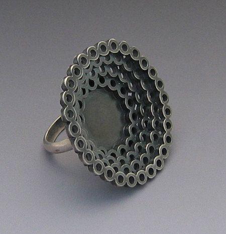Elisa Bongfeldt large lace ring