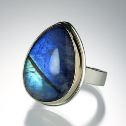 Rainbow Moonstone Ring by Jamie Joseph, Quadrum
