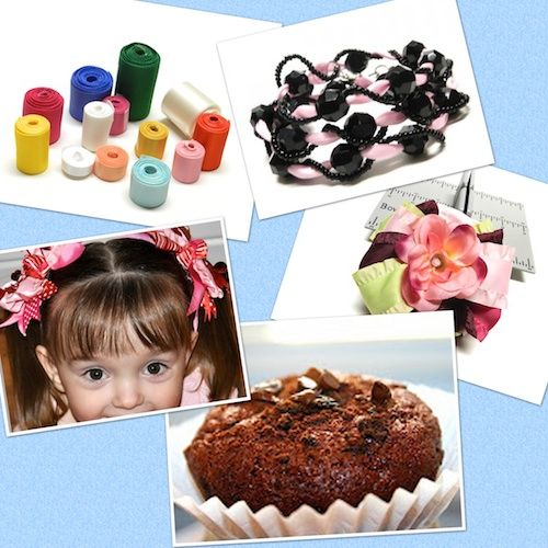 Bowdabra Feature Friday: Week 3- Valentine, hair bows, jewelry and food crafts!