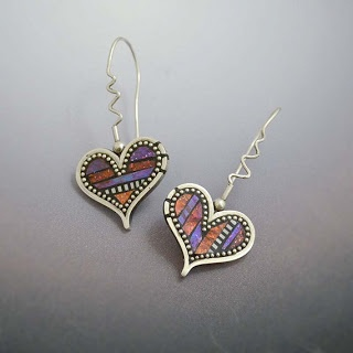 Metal and Polymer Clay Art Jewelry by Lizards Jewelry - The Beading Gems Journal