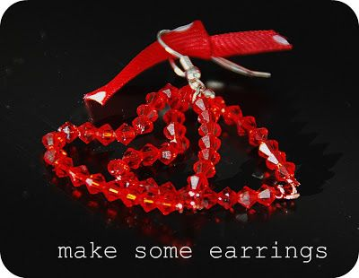 Valentine Gift Idea -- Make Handmade ♥ Heart ♥ Jewelry!