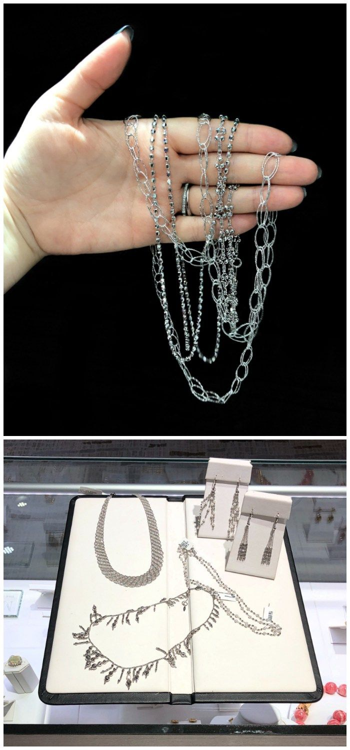 Glorious jewelry from the Platinum Born collection!! All platinum and the ultima...