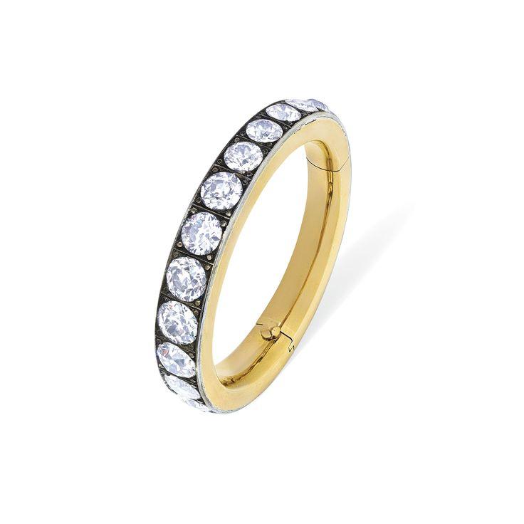 MID-20TH CENTURY DIAMOND BANGLE | Jewelry, bracelet | Christie's