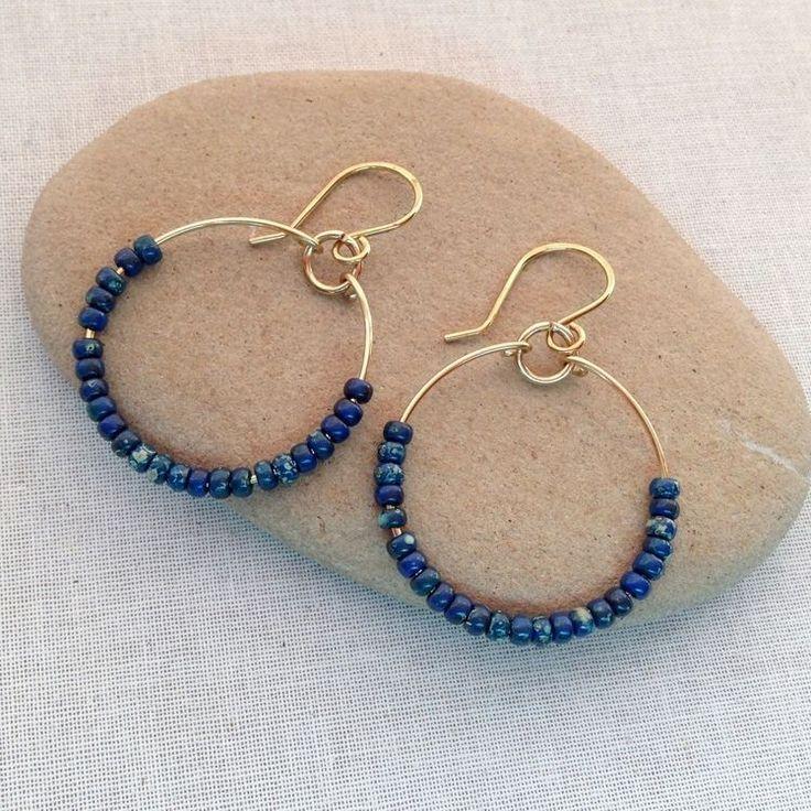 Blog de jóias de Lisa Yang: 5 projetos de jóias DIY com aros de arame artesana...