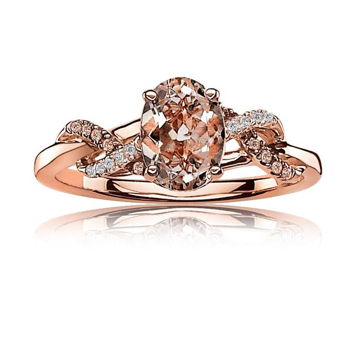 Exclusively Ours! From our JK Crown Collection, this beautiful genuine oval morg...