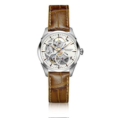 Hamilton Jazzmaster Lady Skeleton Auto Viewmatic Watch H3240551