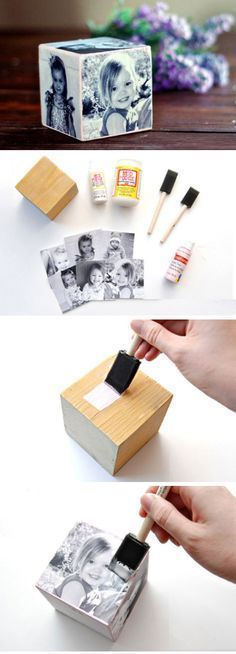 How to Make a Mother's Day Photo Cube | Easy Mothers Day Crafts for Toddlers...