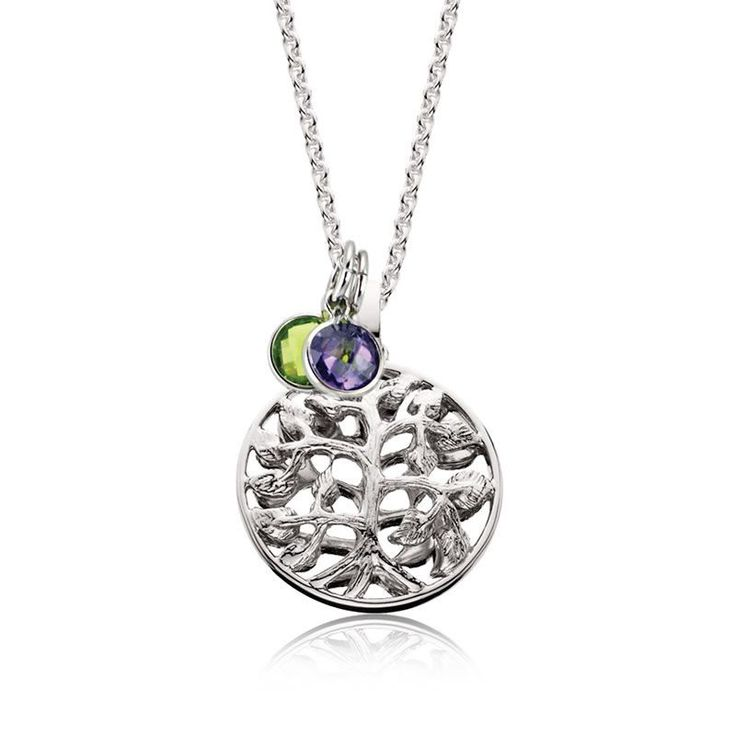 Tree of Life Mommy Chic Pendant in Sterling Silver