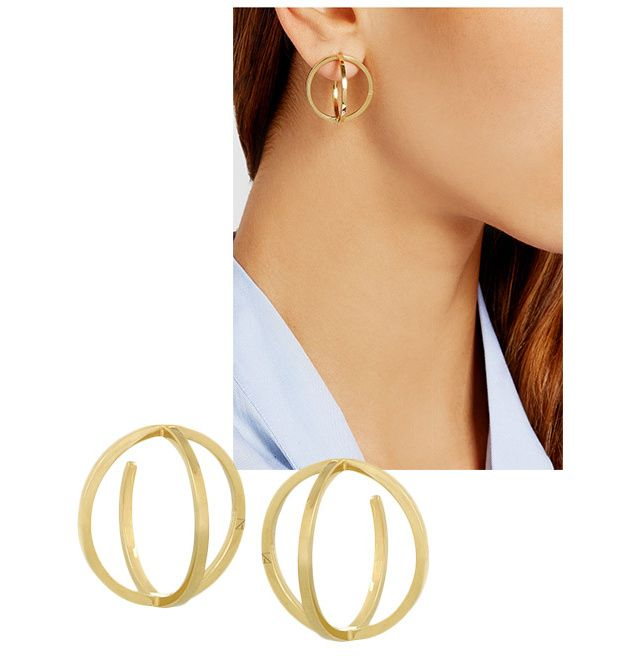 Influenced by the ear cuffs currently in vogue, a summer jewelry staple is spun ...