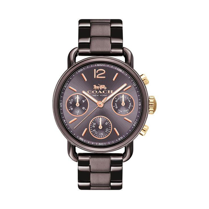 COACH Ladies' Delancey Sport Brown Bracelet Watch 14502843