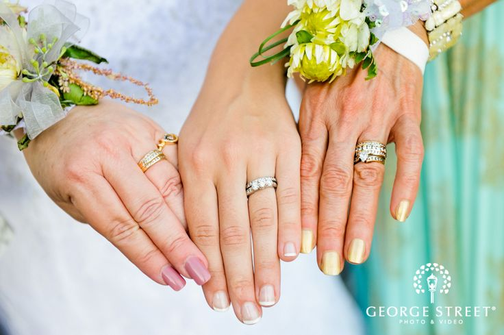 three generations of love and marriage! ♥ a must for wedding photos!