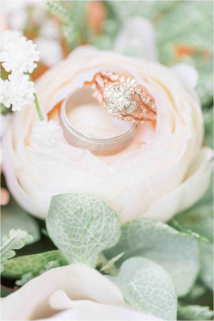 Virginia Mountain Wedding in Crozet in Hues of Peach Green Blush Rose Gold Montf...