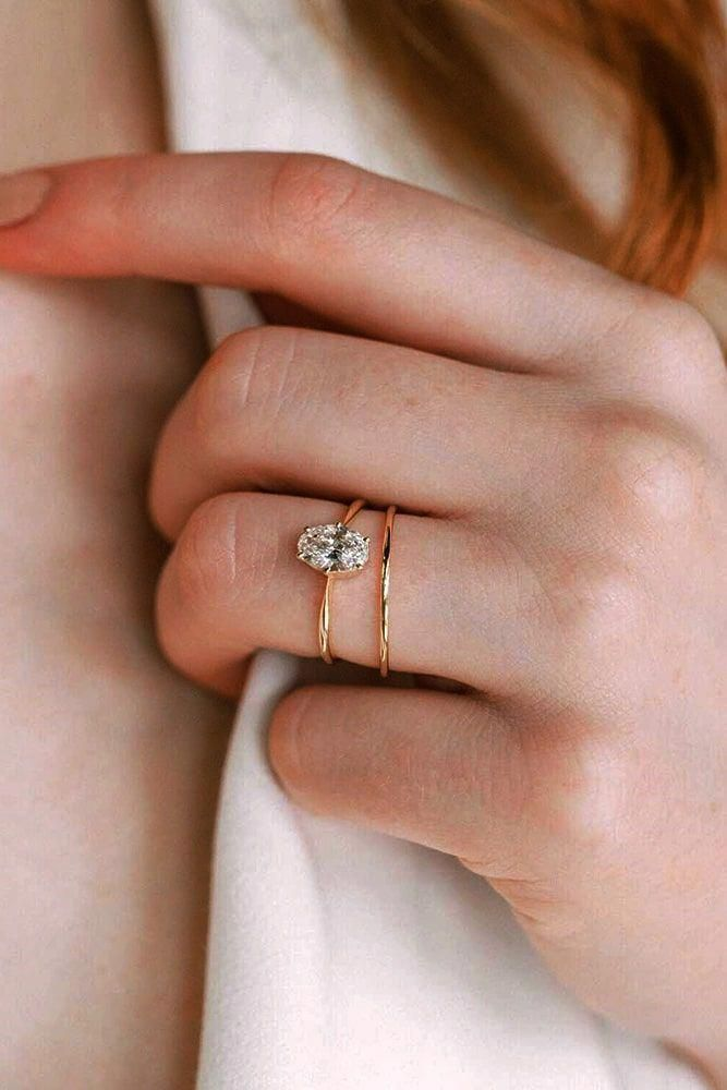 Bridal rings that are classy. #uniqueweddingrings