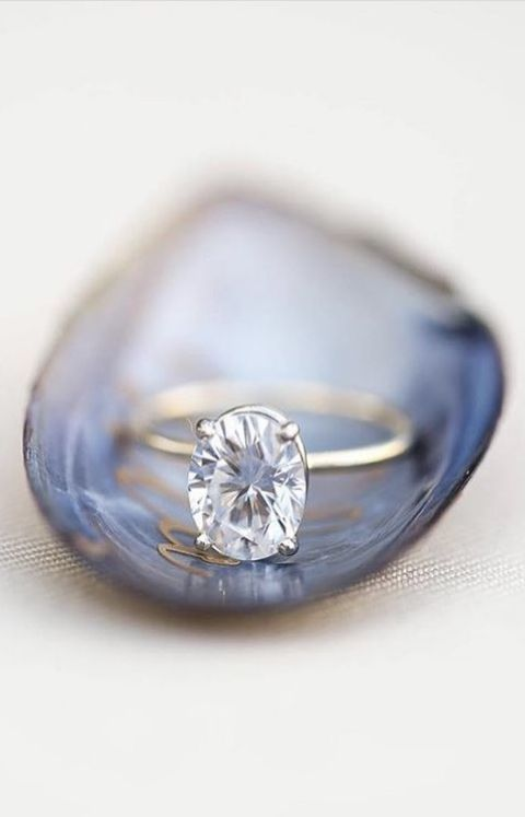 The Tess Ring amazes, it is truly otherworldly engagement ring! A sparkling 2ct ...