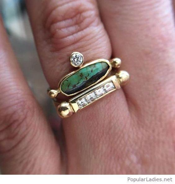 Amazing boho chic rings
