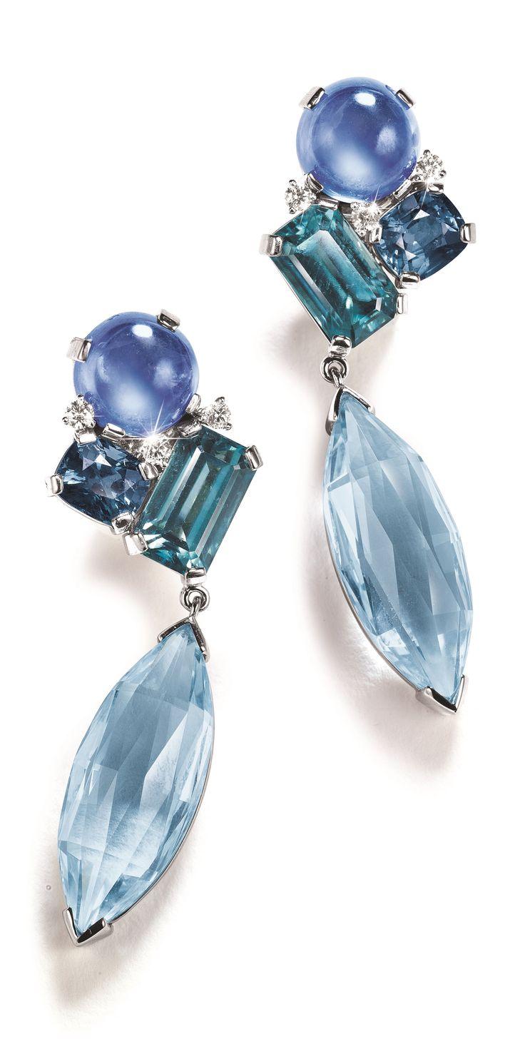 Blue earrings  | ♦F&I♦