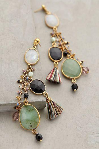 Moondrop Tassel Earrings  | ♦F&I♦