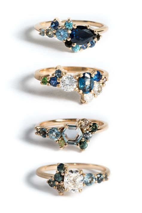 Here are some blues we'd like to get! Sapphires are known as the wisdom stone,...