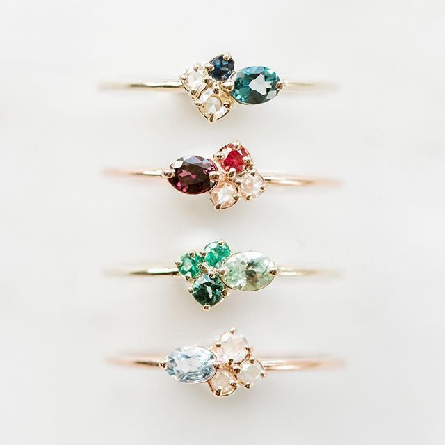 It's mini cluster week here in the studio! We have FOUR new color stories availa...