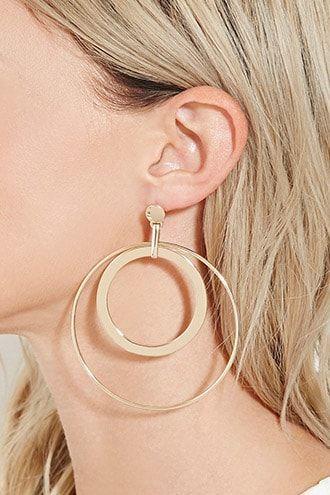 Double Hoop Earrings   ♦F&I♦