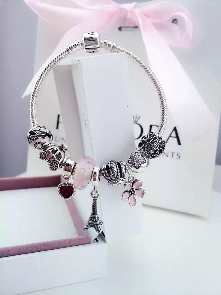 Tendance Bracelets 50% OFF!!! $239 Pandora Charm Bracelet. Hot Sale!!! SKU: CB01...
