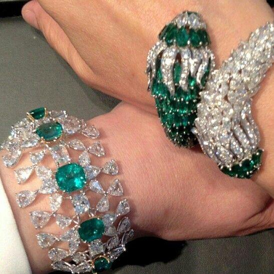 Christies diamonds and emeralds #Repost from @Alysha Cauffman Cauffman Cauffman ...