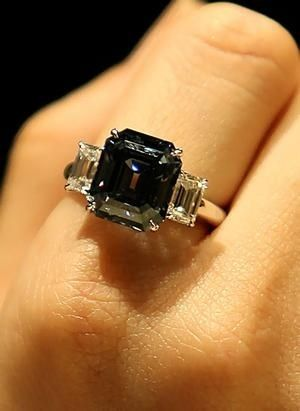 One of the rarest gems in the world, a flawless blue diamond, has sold for $US7....