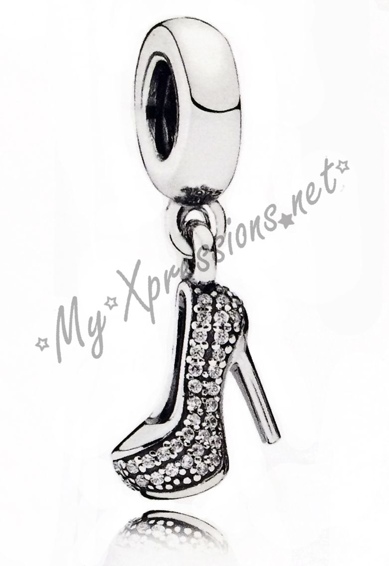 Stiletto heel charm from Pandora.