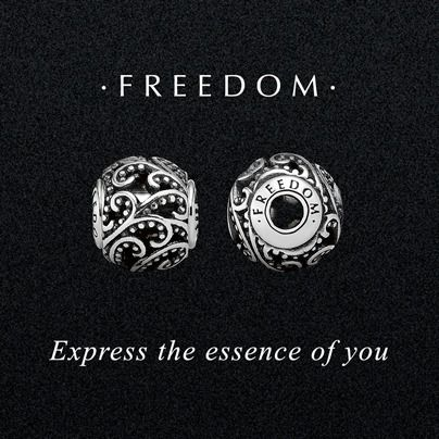 Freedom! Just in time for the Olympics from the PANDORA Essence Collection. Come...