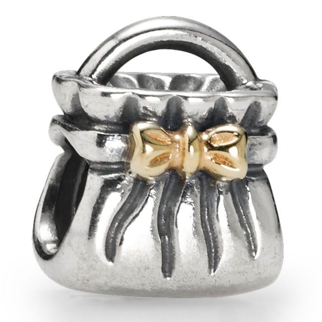 PANDORA Sterling Silver & 14KT Gold Charms