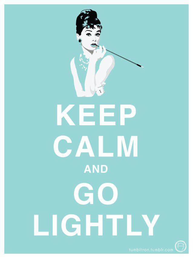 Alex Jane - design - Keep Calm and Go Lightly