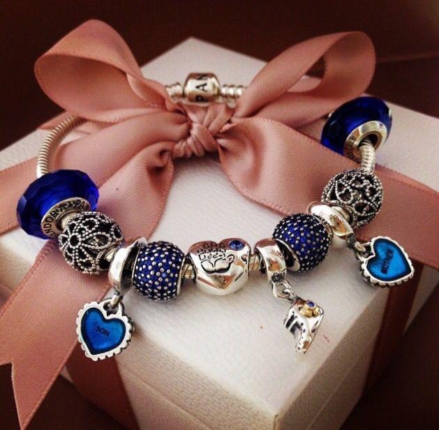 Royal blue Pandora