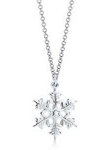 Tiffany & Co Snowflake Necklace