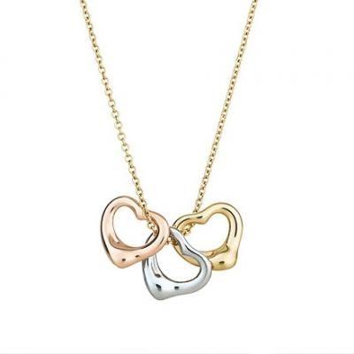 Tiffany Pendants Elsa Peretti Three Open Hearts Pendant