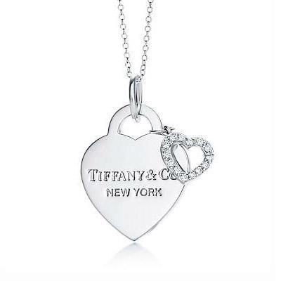 Tiffany Pendants Tiffany Hearts Double Pendant