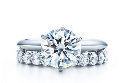 Tiffany & Co. -  The Tiffany® Setting Engagement Ring in Platinum