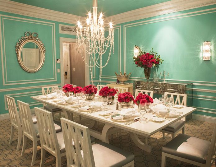 dinner at tiffany's | The Glamourai